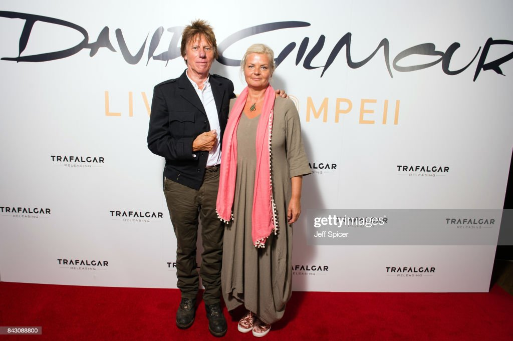 David Gilmour 'Live At Pompeii' Premiere Screening - Red Carpet Arrivals
