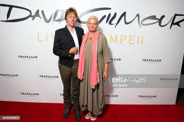 Jeff Beck arrives for the David Gilmour 'Live At Pompeii' premiere screening at Vue West End on September 5 2017 in London England