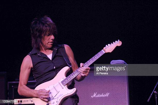 Jeff Beck during Jeff Beck in Concert at Hammerstein Ballroom in New York City September 13 2006 at Hammerstein Ballroom in New York City New York...