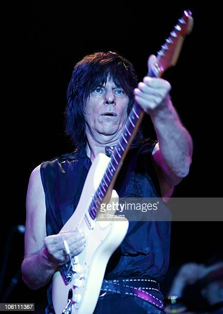 Jeff Beck during Jeff Beck Performs Live at the Greek Theatre September 28 2006 at Greek Theatre in Los Angeles California United States