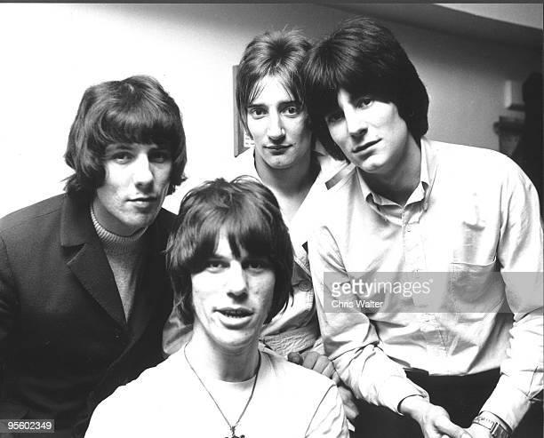 Jeff Beck Group, 1967: Aynsley Dunbar, Jeff Beck, Rod Stewart and Ron Wood