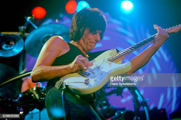 Jeff Beck, guitar, performs at the Melkweg on July 3rd 2001 in Amsterdam, Netherlands.