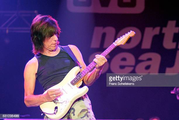 Jeff Beck guitar performs at the North Sea Jazz Festival in Ahoy on July 14th 2006 in Rotterdam Netherlands