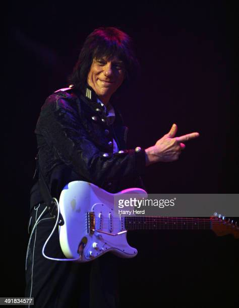 Jeff Beck performs at New Theatre on May 17 2014 in Oxford England