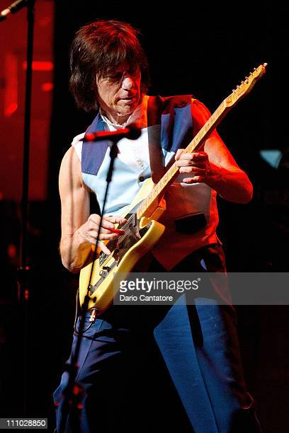 Jeff Beck performs at The Beacon Theatre on March 28 2011 in New York City
