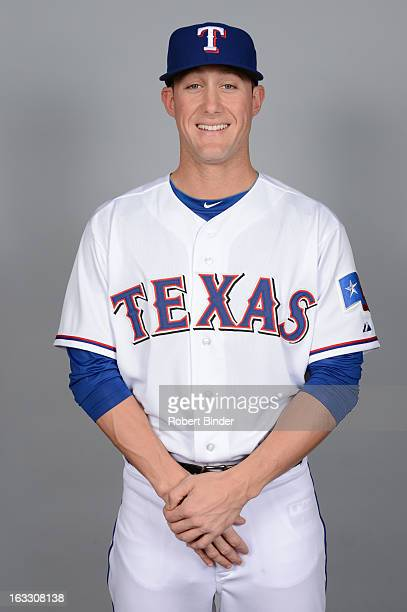 Jeff Beliveau of the Texas Rangers poses during Photo Day on February 20 2013 at Surprise Stadium in Surprise Arizona