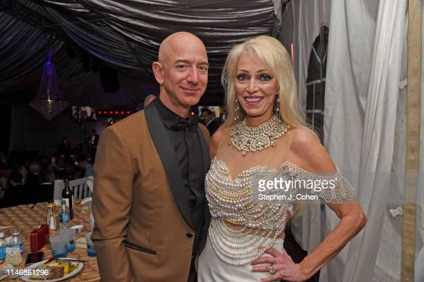 Jeff Bezos and Patricia Tricia Barnstable Brown attends the Barnstable Brown Derby Eve Gala on May 03 2019 in Louisville Kentucky