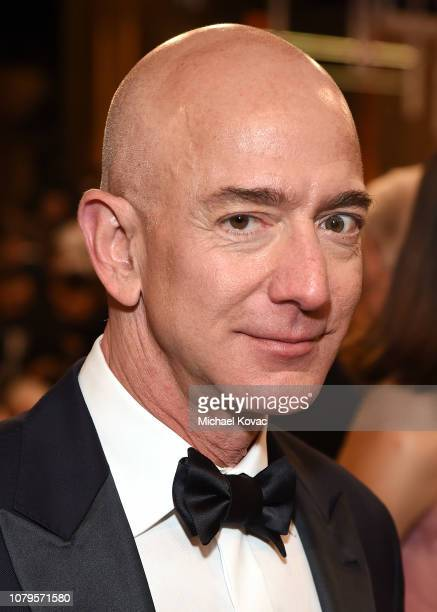 Jeff Bezos attends Moet Chandon at The 76th Annual Golden Globe Awards at The Beverly Hilton Hotel on January 6 2019 in Beverly Hills California