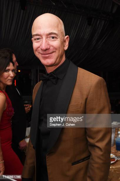 Jeff Bezos attends the Barnstable Brown Derby Eve Gala on May 03 2019 in Louisville Kentucky