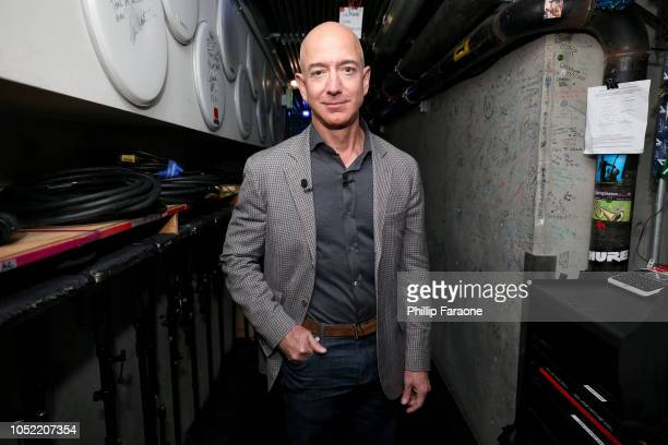 Jeff Bezos attends WIRED25 Summit WIRED Celebrates 25th Anniversary With Tech Icons Of The Past Future on October 15 2018 in San Francisco California