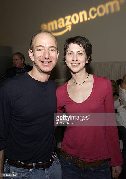 Jeff Bezos CEO of Amazoncom and McKenzie Bezos