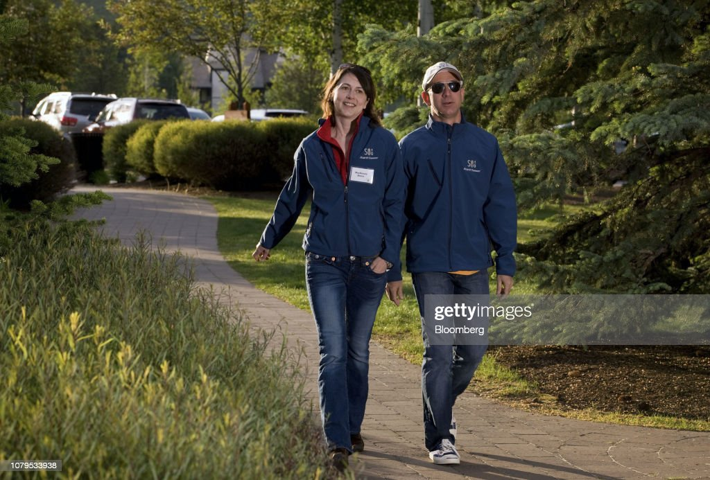File: Amazon's Founder Jeff Bezos Is Getting Divorced After 25 Years : News Photo