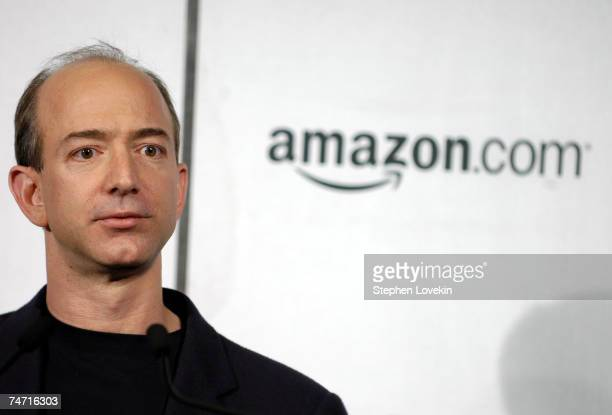 Jeff Bezos, founder/CEO of Amazon.com at the Tribeca Cinemas in New York City, New York