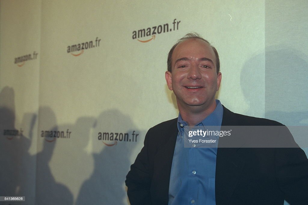 LAUNCH OF AMAZON.FR SITE : News Photo