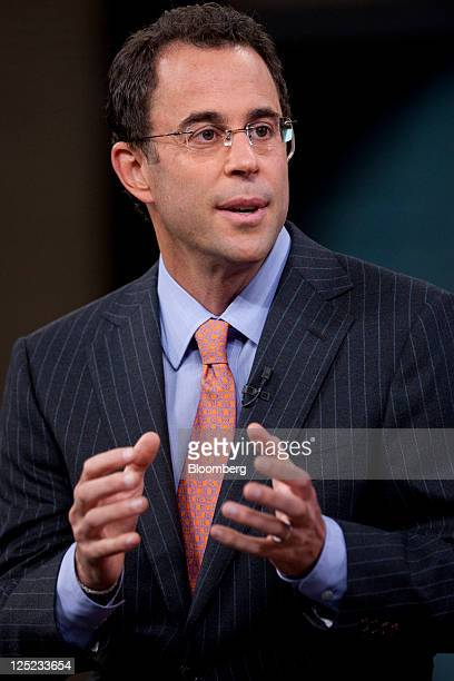 Jeff Blau, president of Related Cos., speaks during a Bloomberg via Getty Images Television interview in New York, U.S., on Friday, Sept. 16, 2011....