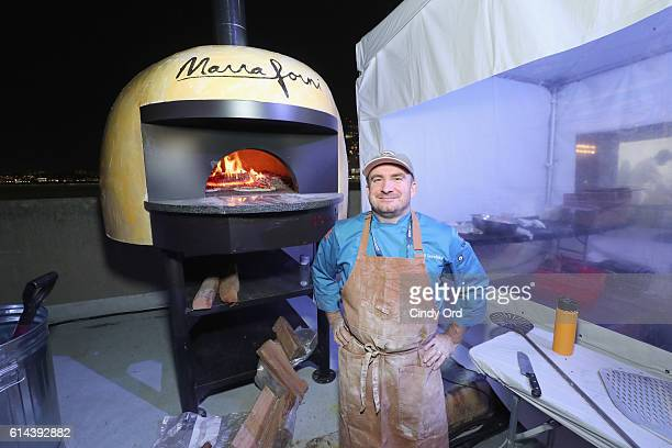 Jeff Borofsky Head Chef and Owner of Skinny Pines attends Barilla's Italian Table hosted by Giada De Laurentiis during the Food Network Cooking...