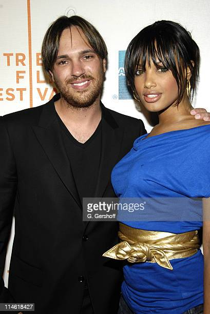 Jeff Bowler and KD Aubert during The 6th Annual Tribeca Film Festival The Grand Premiere at Tribeca Performing Arts Center in New York City New York...