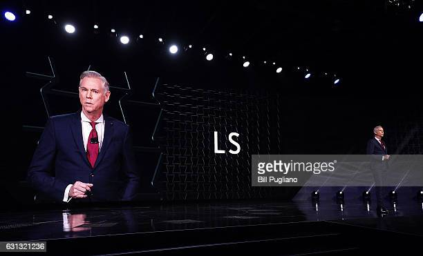 Jeff Bracken Group Vice President and General Manager Lexus Division The 2018 Lexus LS Sedan is shown at its reveal at the 2017 North American...