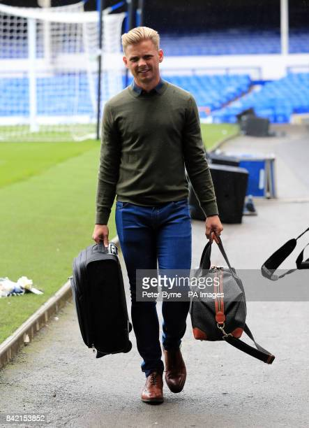 Jeff Brazier arrives for the Bradley Lowery charity match at Goodison Park Liverpool PRESS ASSOCIATION Photo Picture date Sunday September 3 2017 See...