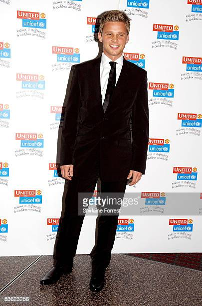 Jeff Brazier attends the Manchester United `United for UNICEF' Gala Dinner at Manchester United Museum on November 9 2008 in Manchester England