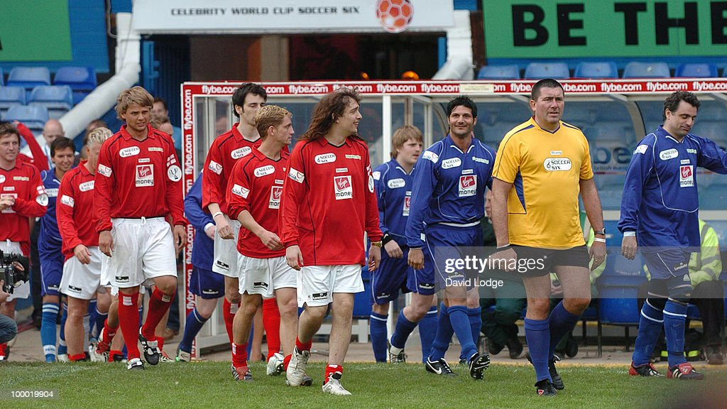 Jeff Brazier, Ralf Little, Philip Olivier, Justin Hawkens and Jeff Winter