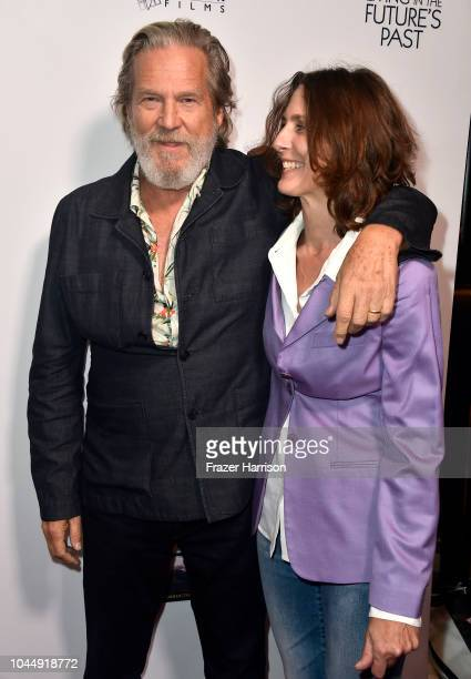 Jeff Bridges and director Susan Kucera attend the Premiere Of Vision Films' 'Living In The Future's Past' at Ahrya Fine Arts Theater on October 2...
