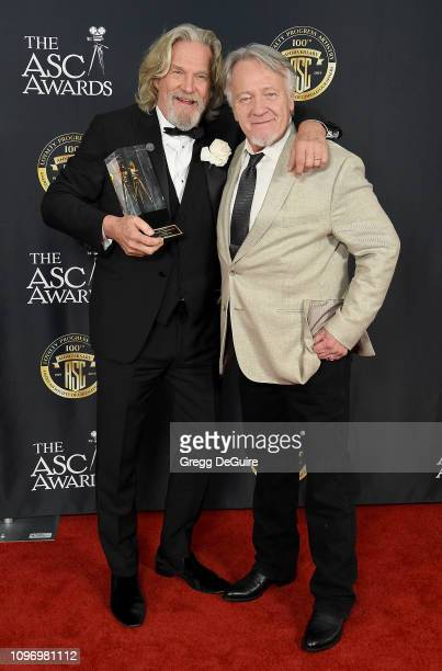 Jeff Bridges and Loyd Catlett attend the 33rd Annual American Society Of Cinematographers Awards For Outstanding Achievement In Cinematography at The...