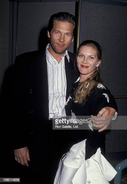 Jeff Bridges and Susan Bridges during 'See You in the Morning' Culver City Premiere at Lorimar Studios in Culver City California United States