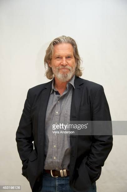 Jeff Bridges at 'The Giver' Press Conference at the Four Seasons Hotel on August 2 2014 in Beverly Hills California