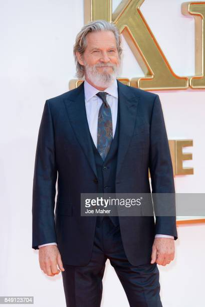 Jeff Bridges attends the 'Kingsman The Golden Circle' World Premiere held at Odeon Leicester Square on September 18 2017 in London England