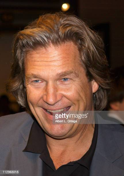 Jeff Bridges during Opening Of Jeff Bridges' Exhibition Hosted By In Style Sales Of 'Pictures' To Benefit Motion Picture Television Fund at Rose...