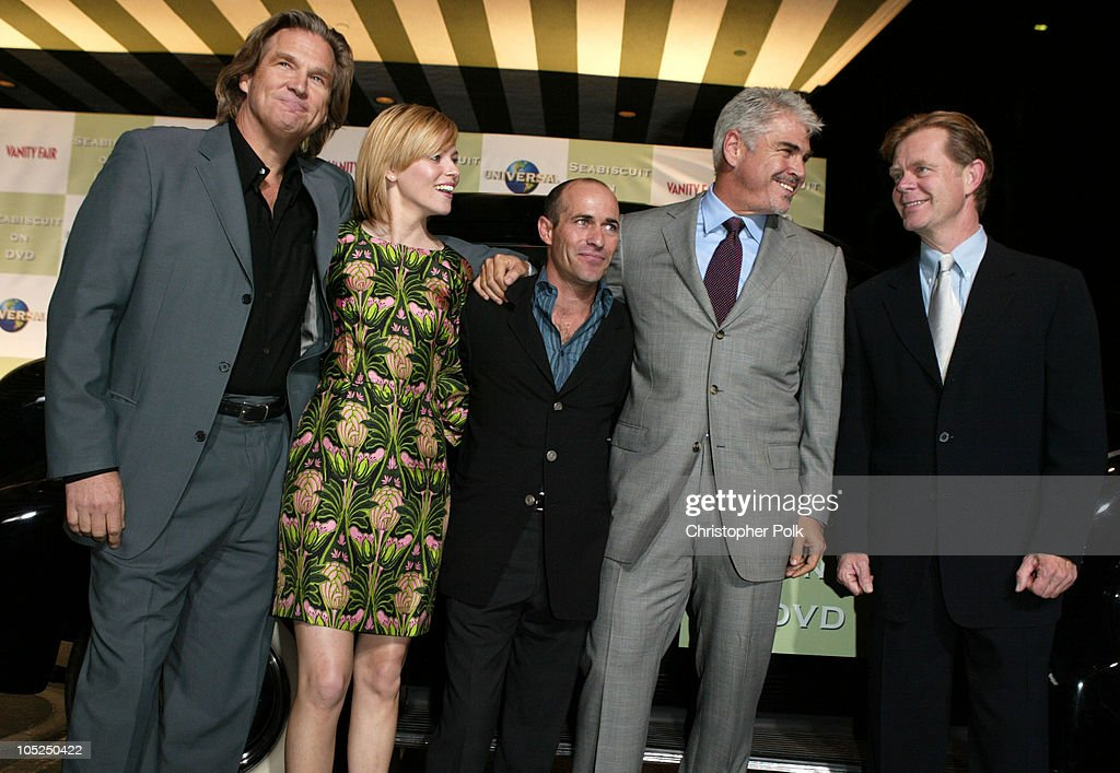 Jeff Bridges, Elizabeth Banks, Gary Stevens, Gary Ross, and William H. Macy