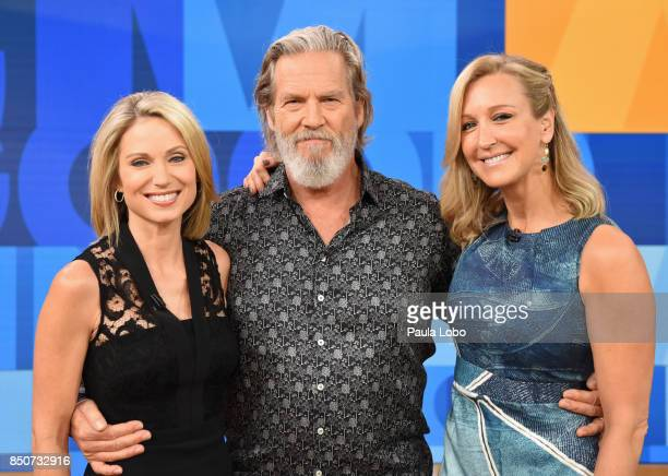 AMERICA Jeff Bridges is a guest on 'Good Morning America' Thursday September 21 2017 airing on the ABC Television Network AMY