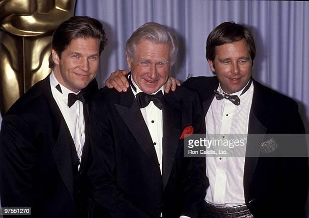 Jeff Bridges Lloyd Bridges and Beau Bridges