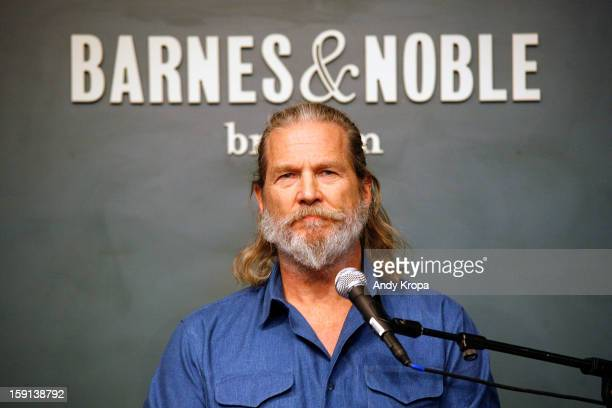 Jeff Bridges visits Barnes Noble Union Square on January 8 2013 in New York City