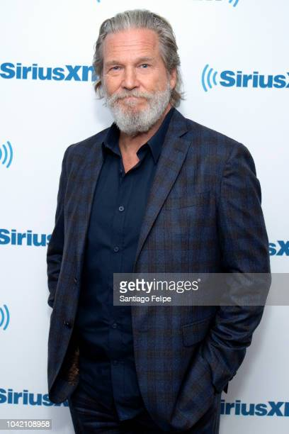 Jeff Bridges visits SiriusXM Studios on September 27 2018 in New York City
