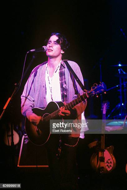 Jeff Buckley performing at the Supper Club at a CMJ show in New York City on September 24, 1994.