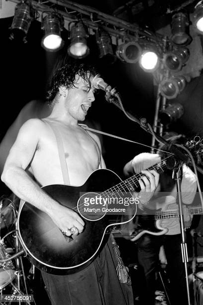 Jeff Buckley performs on stage at The Garage, Islington, London , United Kingdom, 1st September 1994.
