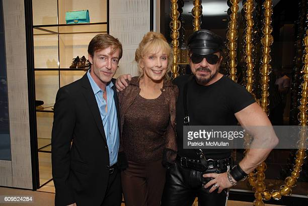 Jeff Burton Stella Steven and Peter Marino attend CHANEL and PS ARTS Party at CHANEL Beverly Hills Inside at CHANEL Boutique on September 20 2007 in...