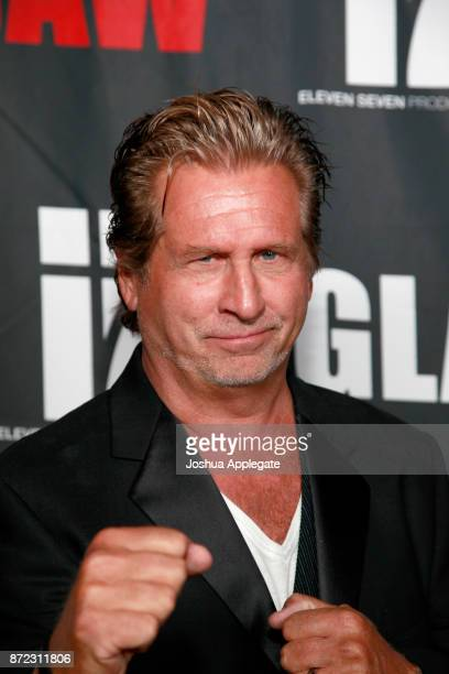 Jeff Celentano at the premiere of 'Glass Jaw' at Universal Studios Hollywood on November 9 2017 in Universal City California