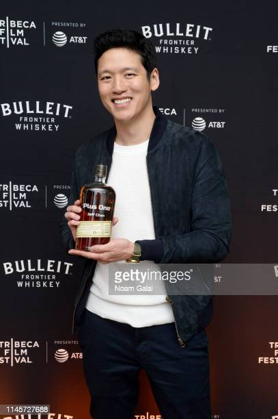 Jeff Chan attends the Plus One Premiere After Party at the Bulleit 3D printed Frontier Lounge during Tribeca Film Festival on April 28 2019 in New...