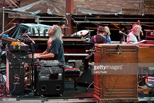 Jeff Chimenti performing with 'Ratdog' at Red Rocks Amplitheater in Morrison Colorado on July 11 2014