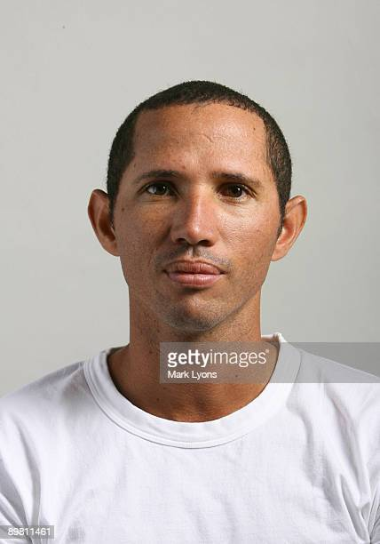 Jeff Coetzee of South Africa poses for a headshot for the Western and Southern Masters at the Lindner Family Tennis Center August 15 2009 in Mason...