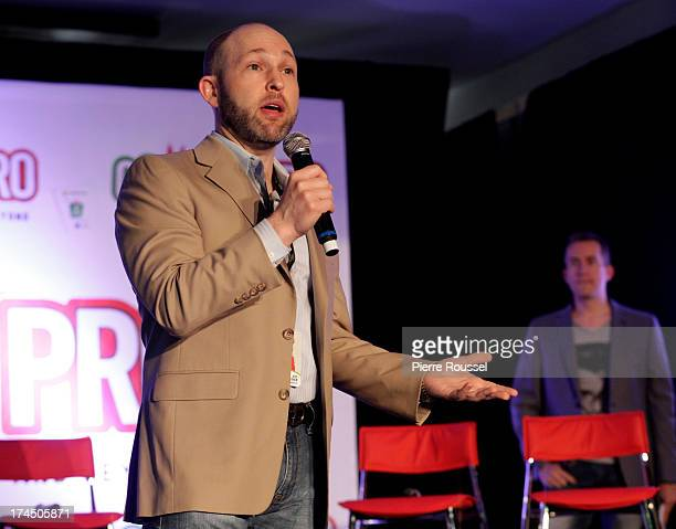 Jeff Cohen attends the Variety 10 Comics To Watch Uncensored panel at the Hyatt Regency July 26 2013 in Montreal Canada