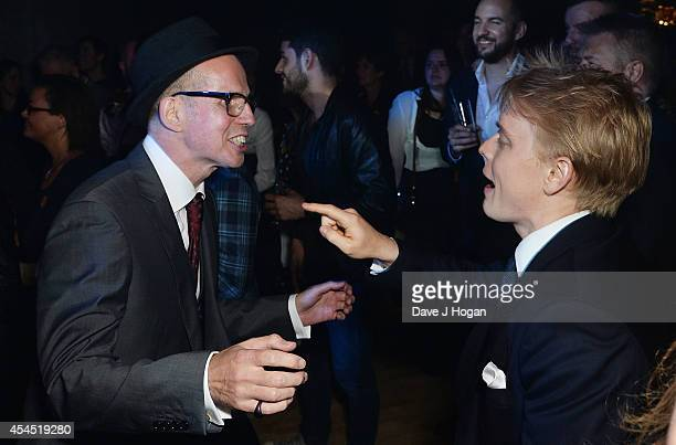 Jeff Cole and Freddie Fox attend an after party for 'Pride' at the Electric Ballroom on September 2 2014 in London England
