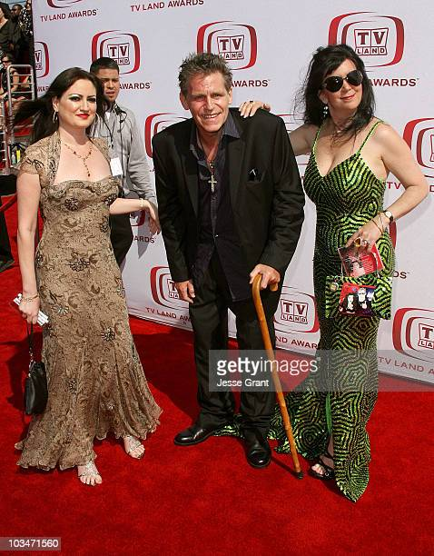Jeff Conaway and guests arrive at the 6th annual TV Land Awards held at Barker Hangar on June 8 2008 in Santa Monica California