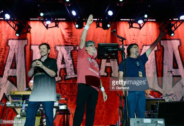 Jeff Cook Randy Owen and Teddy Gentry of Alabama attend perform during Alabama Friends #JSUSTRONG Tornado Relief Concert benefiting Jacksonville...