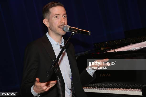 Jeff Cubeta attends The Single Parent Resource Center's Spring Celebration at Laurie Beechman Theater on June 12 2018 in New York City