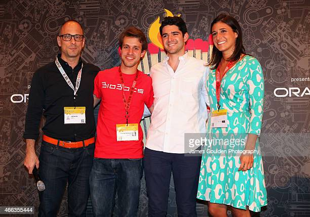 Jeff Dachis One Drop Founder and CEO CoFounder Razorfish Ricardo Solorzano and Danny Cabrera CoFounders of BioBots and CNNMoney correspondent Laurie...
