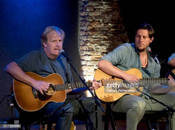 Jeff Daniels and Ben Daniels perform at the at City Winery on August 15 2018 in New York City